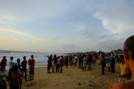 ネゴンボのビーチ