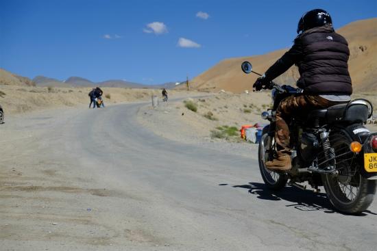 バイクでラダックを目指す