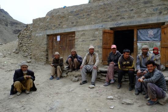 ラダックの村の男性