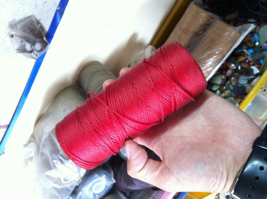 マクラメの糸
