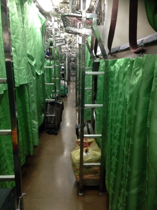 バンコクからラオス列車の旅
