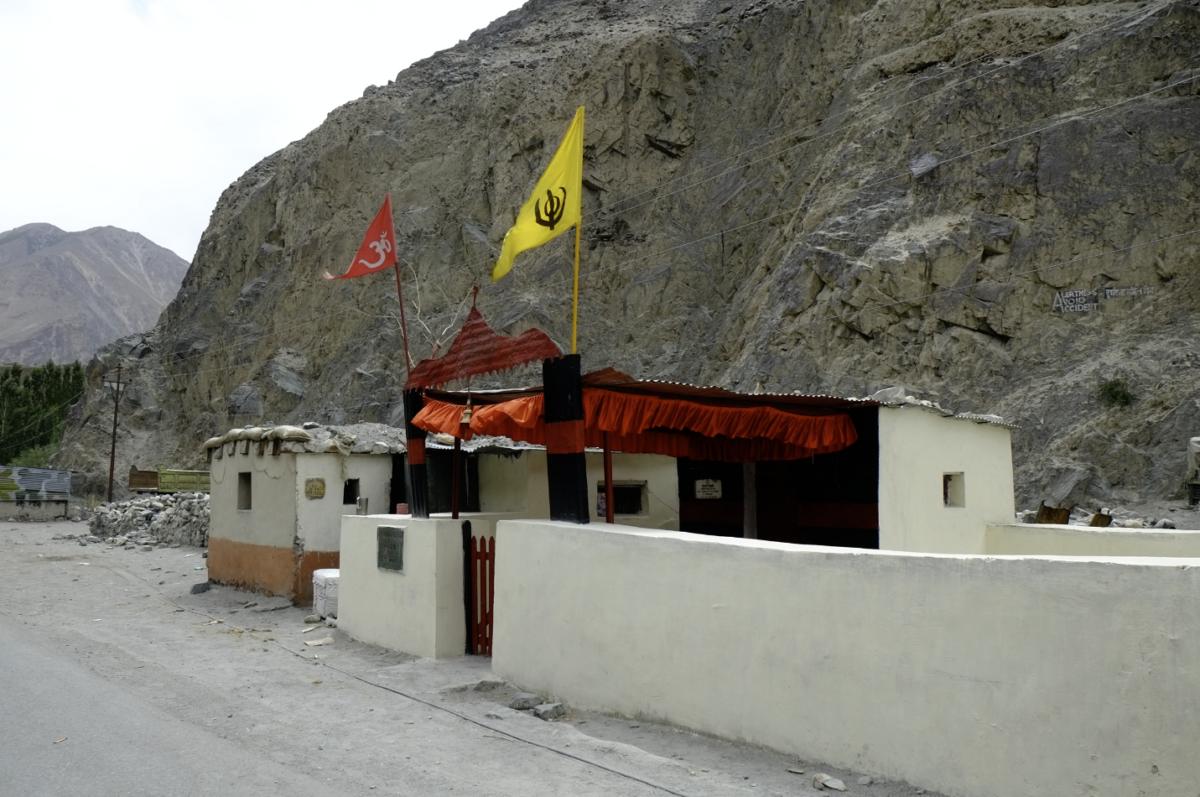 TRUTUKトゥルトゥク村付近のヒンズー教寺院