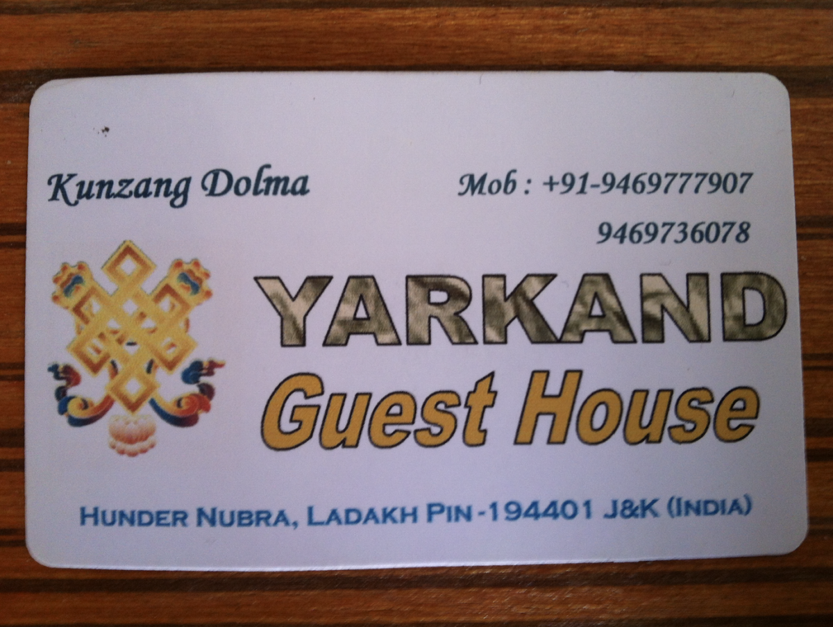 Hunder yarkand guest house