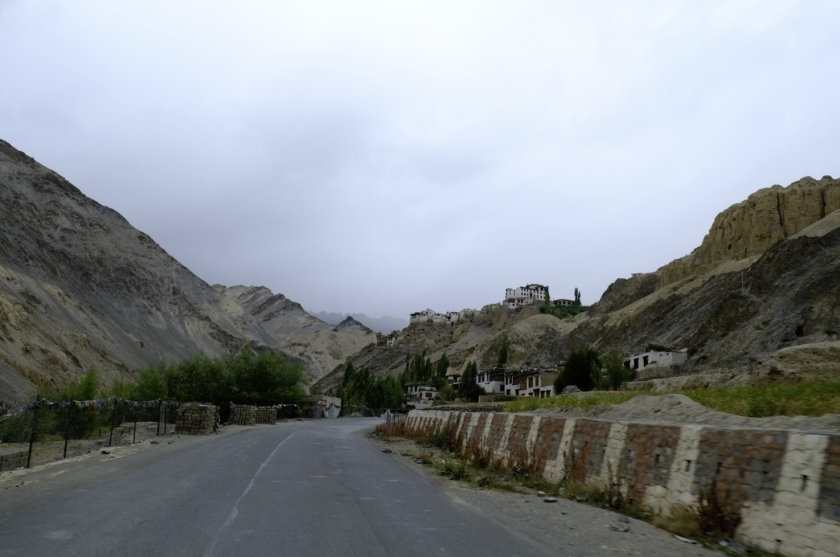 ラマユルまでの景色