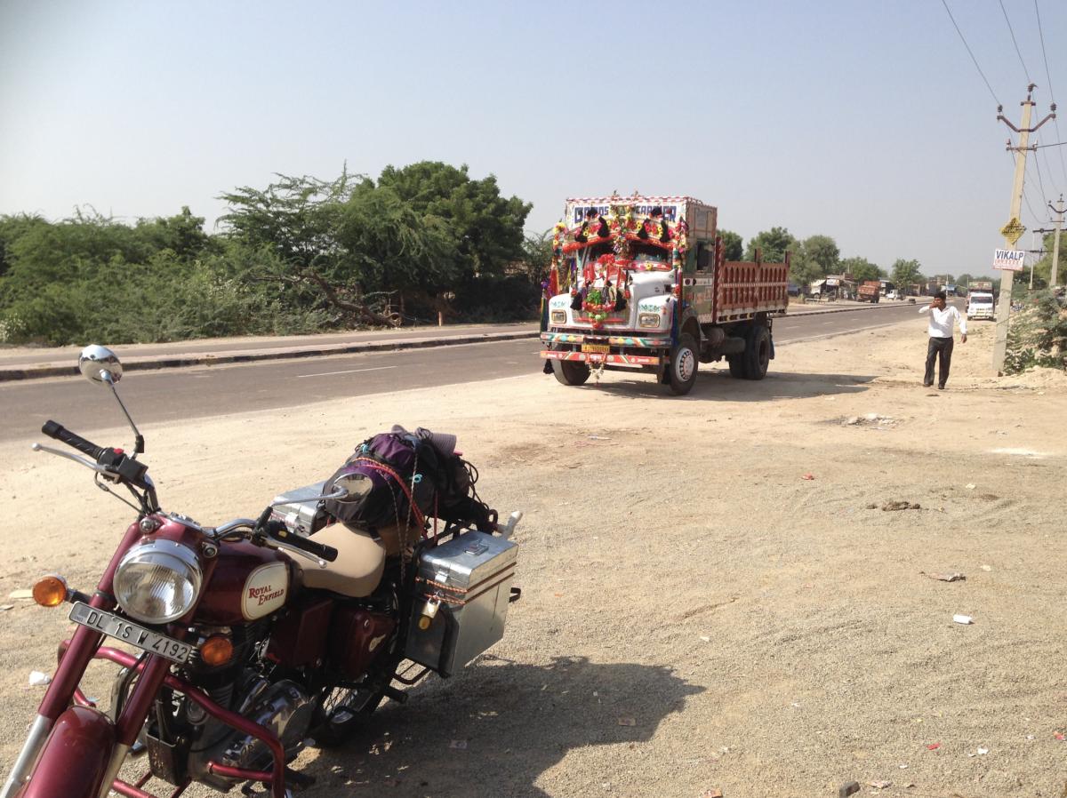 インドのトラック