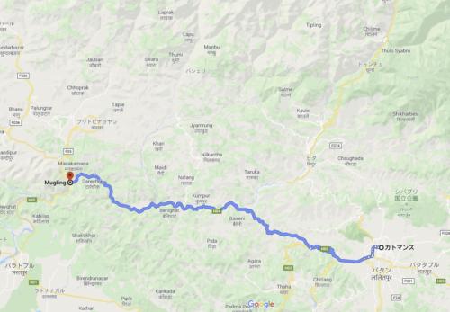 カトマンズからニューデリーまで 1100kmバイク移動
