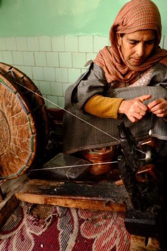 Srinagar,dallake pashmina