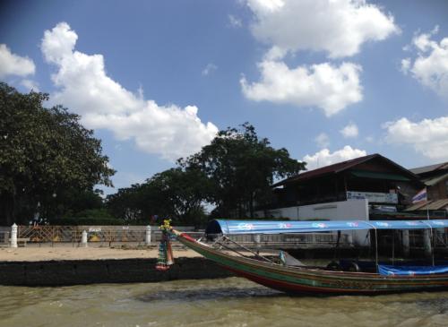 バンコクのボート観光