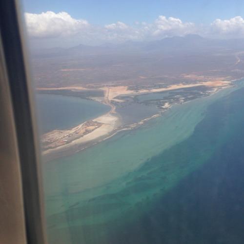 ベネズエラ近くのカリブ海