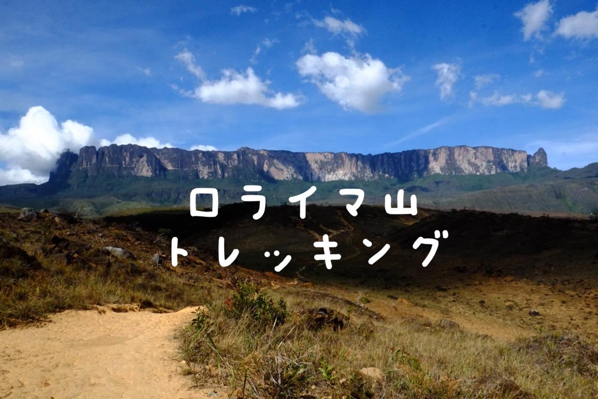 南米の秘境〜ロライマ山頂で浄化されるミゾヨコ