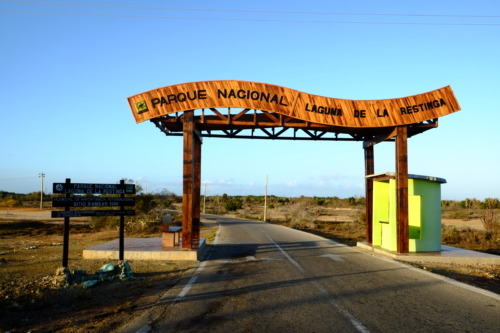 マルゲリータ島ドライブラグナ・デ・ラ・レスティンガ国立公園 Parque Nacional Laguna de La Restinga