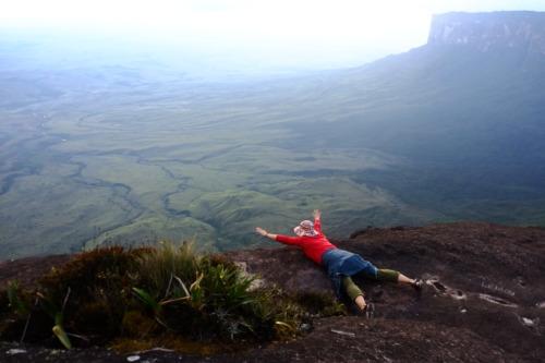 南米の秘境、ギアナ高地のロライマ山トレッキング