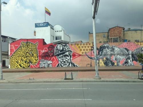 ボコタのストリートアート