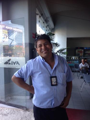 CIVAのバスターミナルのセキュリティー