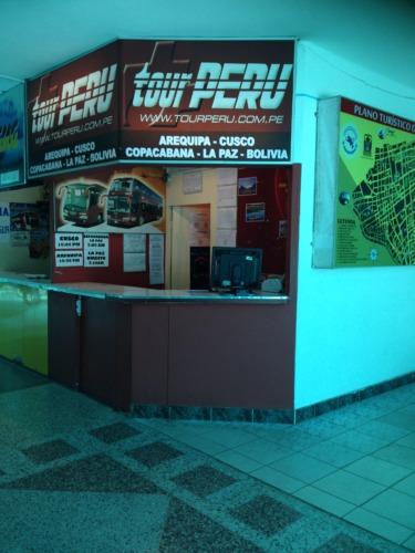 tourPERUツアーペルーと言うバス会社