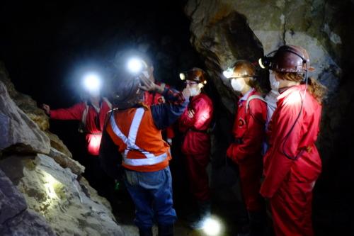 ポトシの鉱山見学ツアー