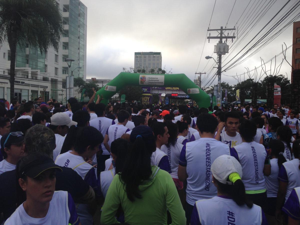南米ボリビアで初挑戦!サンタクルスでマラソン大会に出場したミゾヨコ